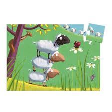 téléchargement puzzle de mouton
