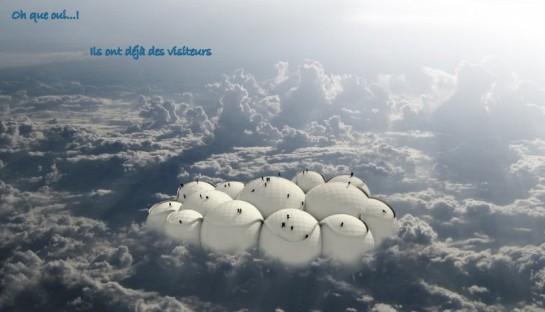 les bulles dans les nuages...