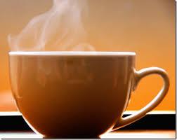 images mug de café fumant