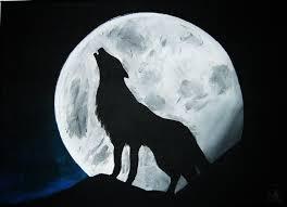 téléchargement Loup à la pleine lune 1