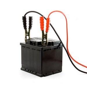 car battery jump start set studio isolated