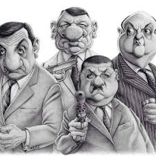 images caricatures tontond flingueurs